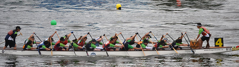 Dragon boat race in Vancouver